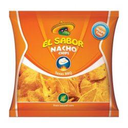 El sabor big nacho chips gluténmentes texas bbq 225 g