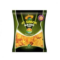 El sabor big nacho chips gluténmentes jalapeno 225 g
