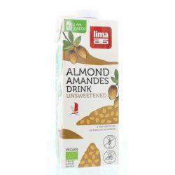 Lima bio mandulaital natur, édesítőszermentes 1000 ml