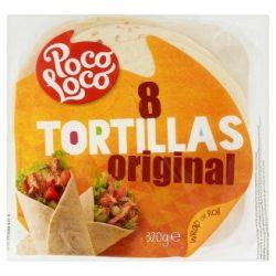 Poco Loco lágy tortilla original 320 g