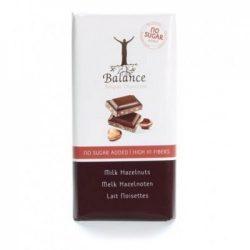 Balance belga tej-mogyoró tábla maltitol 85 g