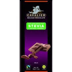 Cavalier tejcsokoládé stevia 85 g