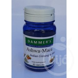 Dammers ashwa maca indiai ginzeng kapszula 40 db
