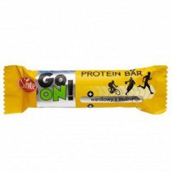 Sante go on tejcsokoládéval bevont vaníliás protein szelet 50 g