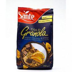 SANTE GRANOLA GOLD CSOKOLÁDÉ-NARANCS 300 g