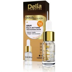 Delia gold & collagen élénkítő arcszérum a ráncok ellen 10 ml
