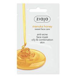 Ziaja manuka mézes pattanás elleni arcmaszk zsíros, vegyes bőrre 7 ml