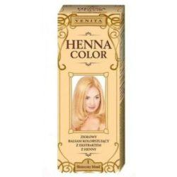 Henna Color szinező hajbalzsam nr 1 napszőke 75 ml