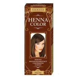 Henna Color szinező hajbalzsam nr 113 világosbarna 75 ml