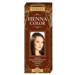 Henna Color szinező hajbalzsam nr 115 csokoládé barna 75 ml