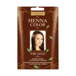 Henna Color hajszinezőpor nr 115 csokoládé barna 25 g