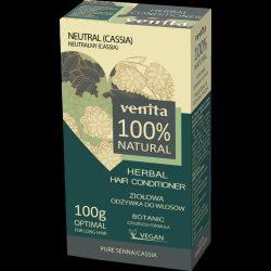 Venita 100% natural gyógynövényes növényi hajkondícionáló neutral színtelen 100 g