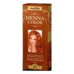 Henna Color szinező hajbalzsam nr 4 henna vörös 75 ml