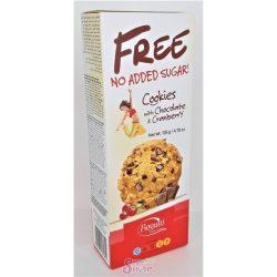 Bogutti free csokidarabos keksz vörösáfonyával 135 g