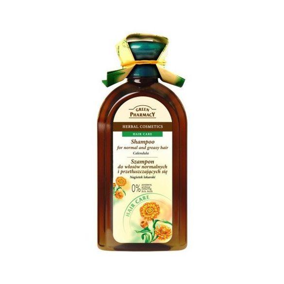 Green Pharmacy sampon normál-zsíros hajra 350 ml