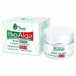 Ava bioalga és q10 koenzim bőrkisimító, regeneráló éjszakai arckrém 50 ml