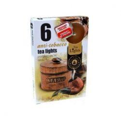Illatos teamécses anti tobacco 6 db-os
