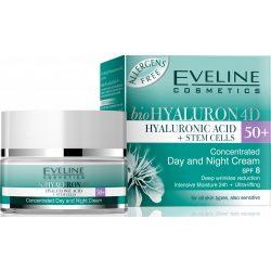 Eveline hyaluron clinic 50+ day&night lifting arckrém 50 ml