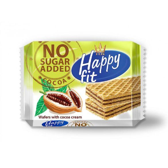 Happy fit kakaós ostyaszelet hozzáadott cukor nélkül 95 g