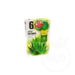 Illatos teamécses aloe vera 6 db-os 1 db
