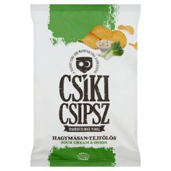 CSÍKI CSIPSZ HAGYM.TEJFÖLÖS CHIPS 70G GM