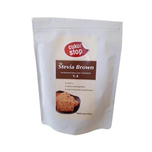 CUKOR-STOP STEVIA BROWN 250 G 250 g