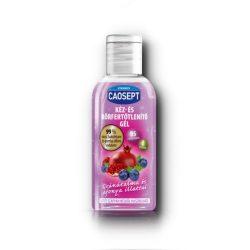 Caosept kéz- és bőrfertőtlenítő gél áfonya és gránátalma 50 ml