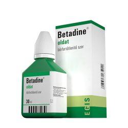 Betadine bőr- és nyálkahártya fertőtlenítő szer 30 ml