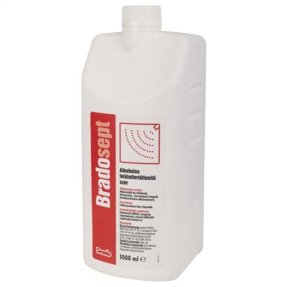 Bradosept alkoholos felületfertőtlenítő 1000 ml