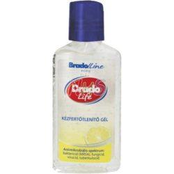 Bradolife kézfertőtlenítő gél citrom 50 ml