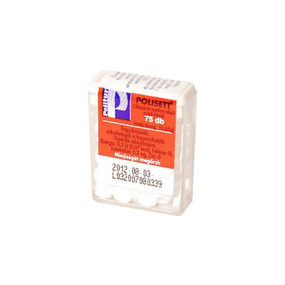 Politur polisett édesítő tabletta 140 db