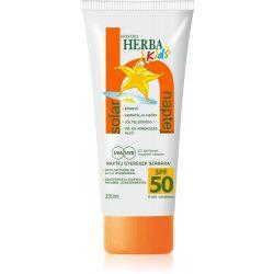 Herbária herbakids solar spf 50 gyermek naptej 200 ml