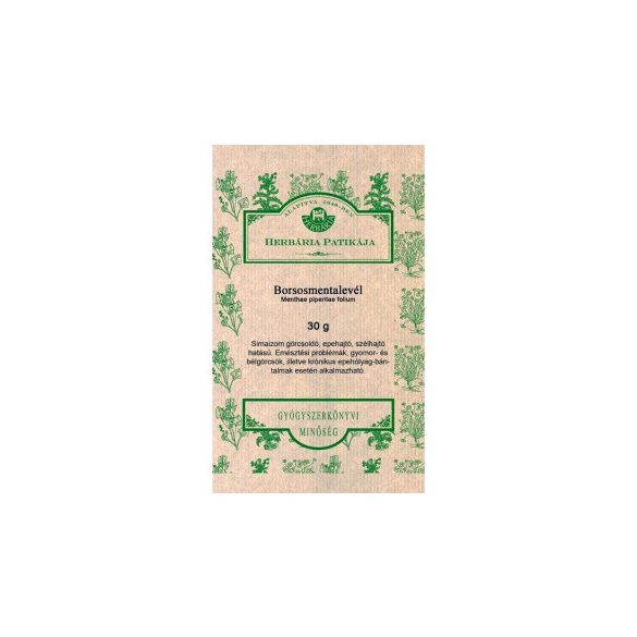 Herbária borsosmentalevél tea 30 g