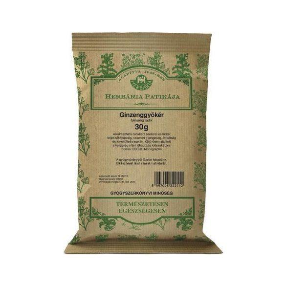 Herbária Ginseng-gyökér             30 g