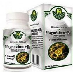 Herbária magnézum+b6 tabletta 30 db