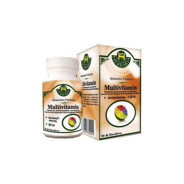 Herbária Multivitamin +Q10 Tabletta 30 db