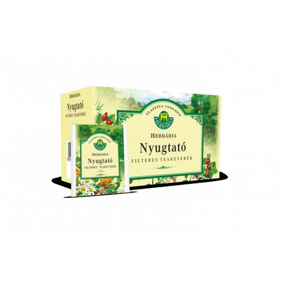 Herbária Nyugtató tea bor.filt.   20 db/dob.1 g
