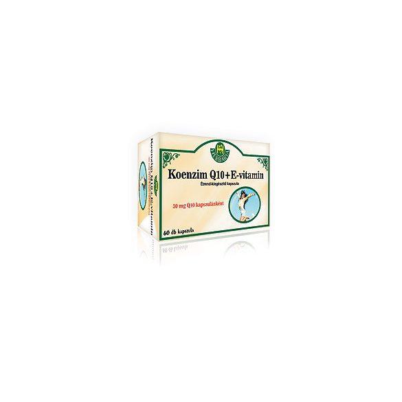Herbária Q10 + E vitamin lágyzsel.kapsz 60 db  60 db
