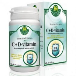 Herbária c 1000 mg +d3000 ne vitamin kapszula 60 db