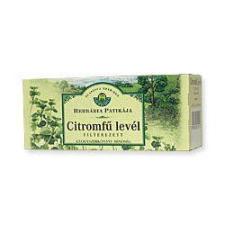 Herbária citromfűlevél tea 25x1g 25 g