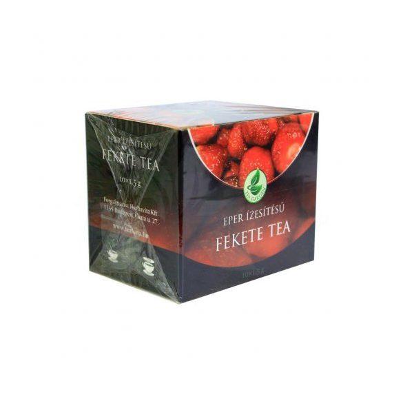Herbária fekete tea eper 10x1,5g 15 g