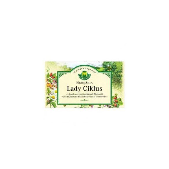 HERBÁRIA LADY CIKLUS TEA FILTERES