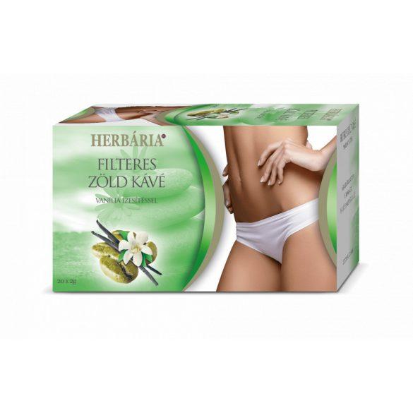 Herbária zöld kávé vanília ízzel 40 g