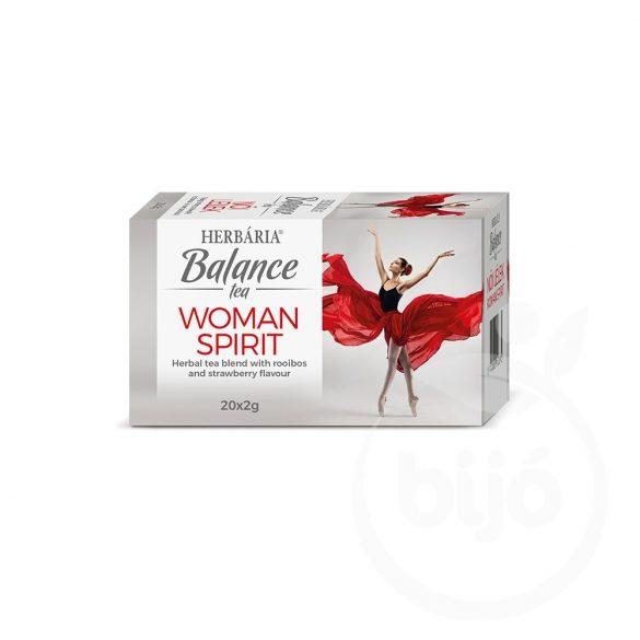 Herbária balance tea woman spirit 20x2g 40 g