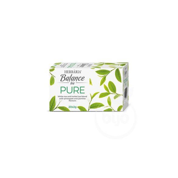 Herbária balance tea pure 20x2g 40 g