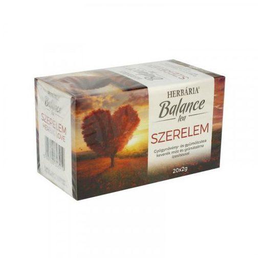 Herbária balance tea herbal love 20x2g 40 g
