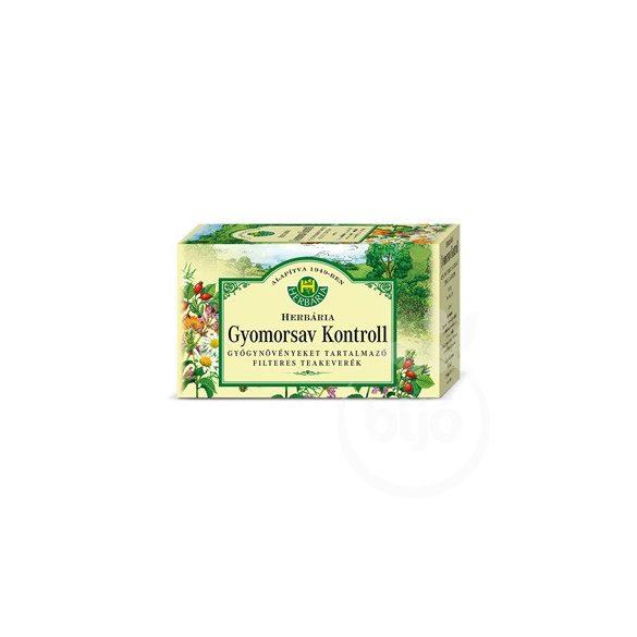 Herbária gyomorsav kontroll tea 20x1,2g 24 g