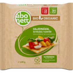 Abonett extrudált bio kenyér hajdinával gluténmentes 100 g