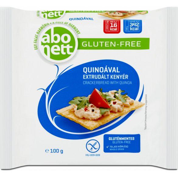Abonett extrudált kenyér quinoával gluténmentes 100 g