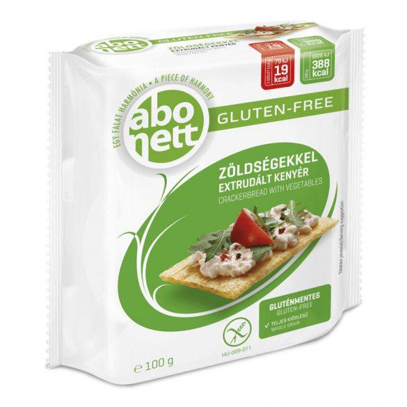 Abonett extrudált kenyér zöldségekkel gluténmentes 100 g